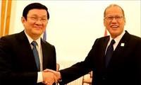 越南国家主席张晋创出席APEC系列活动