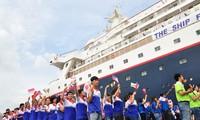 2015东南亚-日本青年船抵达胡志明市