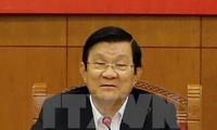 张晋创会见中国香港特别行政区行政长官梁振英等APEC经济体领导人