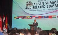 第27届东盟峰会将通过多项重要文件