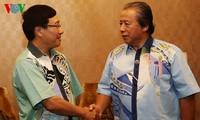 越南政府副总理兼外长范平明会见马来西亚外长阿尼法