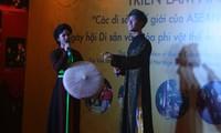 东盟的世界遗产摄影展在河内举行