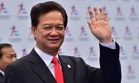 越南政府总理阮晋勇总理出席COP21会议