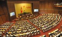 越南国会就国家选举委员会人事和立法工作进行讨论