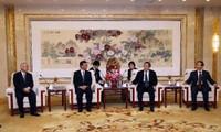 中日执政党恢复中断六年的交流活动