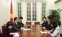 加强落实越日经济合作协议
