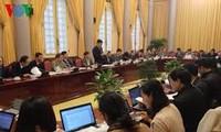 越南国家主席办公厅举行新闻发布会公布7部法律和5项决议