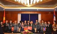 越老两国司法部部长举行会谈