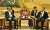 阮生雄会见中国全国政协主席俞正声