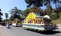 大叻市花卉节迎接新年