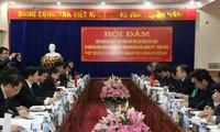 越南高平省与中国广西百色市推动口岸经济发展