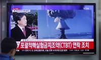 国际社会继续谴责朝鲜核试验