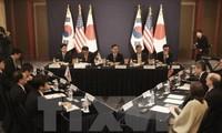 美日韩呼吁对朝鲜氢弹试验实施强有力制裁措施