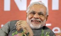 印度总理莫迪向越南人民拜年