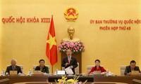 越南国会常务委员会第45次会议正式开幕