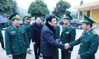 越南国家主席张晋创视察高平省