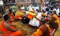 高棉族迎接新年的节日