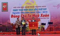 越南各地举行2016年越南诗歌日