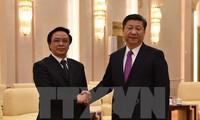 越共中央总书记特使黄平君访问中国