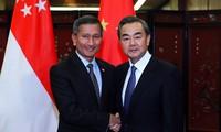"""新加坡敦促中国及早制定""""东海行为准则"""""""