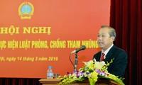 越南各级人民法院积极实施反腐败法