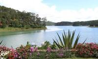 大叻市的泉林湖—仙石山生态旅游区
