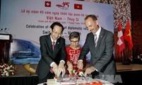 越瑞建交45周年纪念会在胡志明市举行