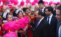 阮春福抵达南宁开始对中国进行正式访问
