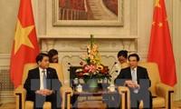 中国共产党干部代表团访问越南