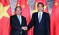 越南政府总理阮春福圆满结束对中国的正式访问