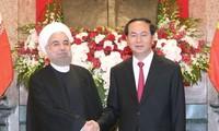 陈大光设宴招待伊朗总统鲁哈尼