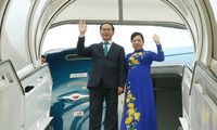 越南国家主席陈大光开始对古巴的正式访问