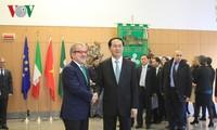 陈大光会见意大利米兰市长萨拉和伦巴第大区主席马罗尼