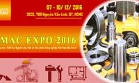 2016年越南国际工业机械设备及原料展在胡志明市开幕