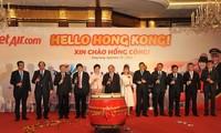 越捷航空公司开通胡志明市至中国香港航班