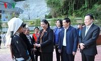 越南国会副主席从氏放视察高平省