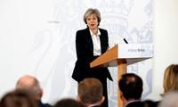 """英国首相公布""""英国脱欧路线图"""""""