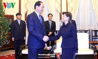 陈大光会见新加坡大使凯瑟琳·王