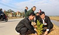 越南全国各地举行植树节