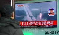 朝鲜确认成功试射一枚弹道导弹