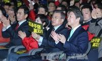 韩国总统选举:韩国国民之党提名前党首安哲秀为总统候选人
