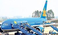 越航计划增加8条国内航线的单程航班次数