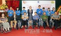 越南关心照顾残疾人