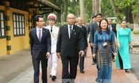 缅甸联邦议会议长曼温凯丹圆满结束访越行程