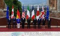 七国集团峰会:各国领导人发表关于多项国际事务的联合公报