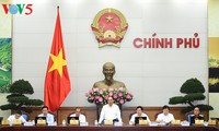 越南政府召开5月份工作例会