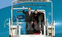 陈大光一行开始对俄罗斯进行正式访问