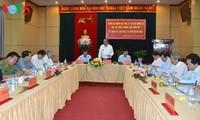 越南政府副总理张和平视察广义省