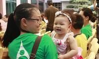 越南响应世界母乳喂养周和妇幼保健月活动