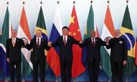 金砖国家领导人第九次会晤开幕